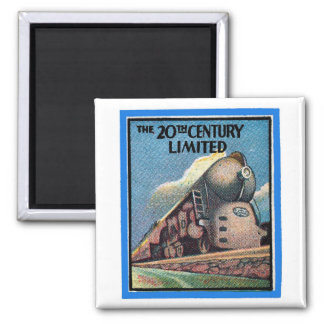 "Matchbook Magnets - ""The 20th Century Limited"""