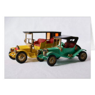 Matchbox Cars Card