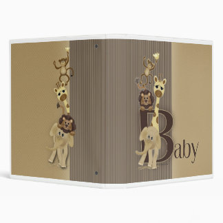 Matching Baby Safari Book Binder