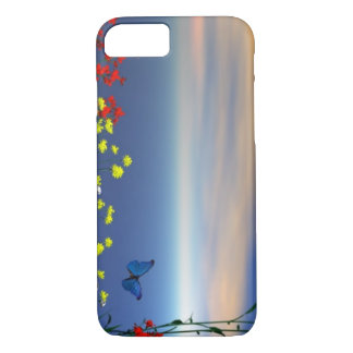 Matching Butterflies and Flowers  i phone case