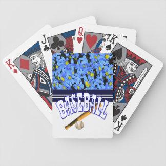 Matching cribbage board bicycle playing cards