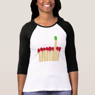 Matchs colorés t shirts