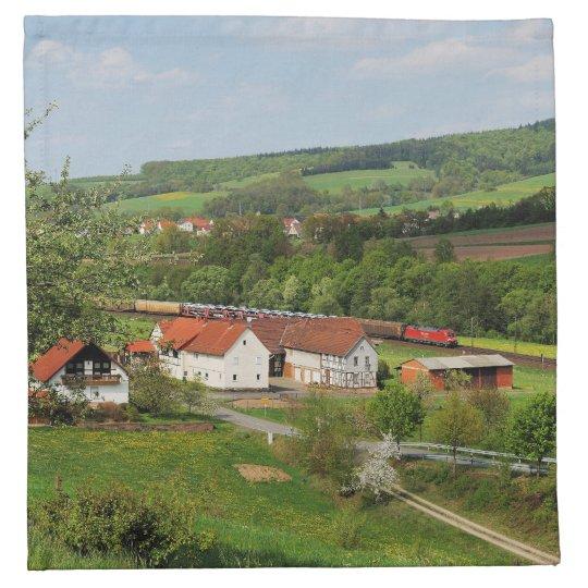 Material napkins Hermannspiegel in the Haunetal