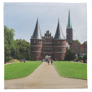 Material napkins Luebeck getting gate