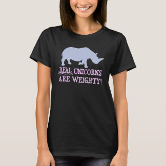 Material unicorns acres weighty T-Shirt