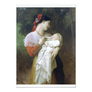 Maternal admiration announcements