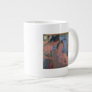 Maternity at Pouldu, Evening Jumbo Mug