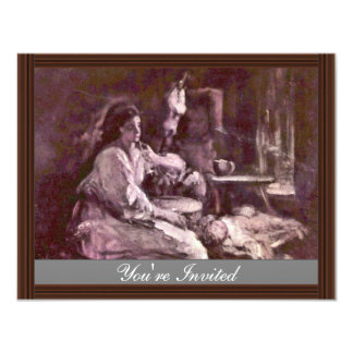 Maternity By Grigorescu Nicolae (Best Quality) Personalized Announcements