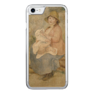 Maternity by Pierre-Auguste Renoir Carved iPhone 7 Case