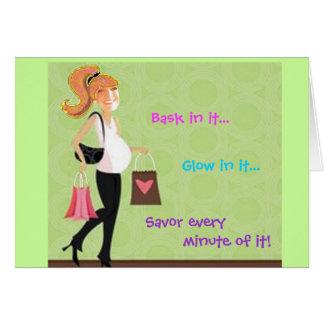 Maternity Card
