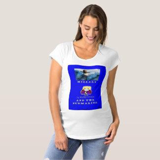 maternity hillary submarine secret cave maternity T-Shirt