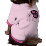 Maternity  Poodle Dams Doggy Tee Pet T-shirt