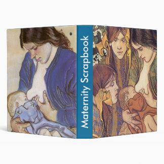 Maternity Scrapbook (Boy's Blue) Binders