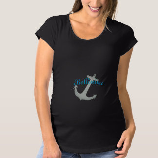 "Maternity_So Beautiful ""Bellissimo_Itailian_ATS Maternity T-Shirt"