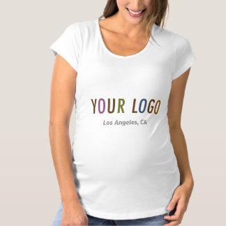 Maternity T-Shirt Custom Business Logo Uniform