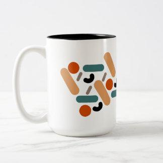 Mates / Black 444 ml  Two-Tone Mug