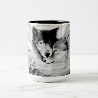Mates forever Two-Tone coffee mug