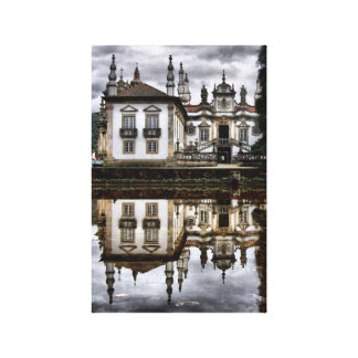 Mateus palace in Vila Real (2) Gallery Wrap Canvas
