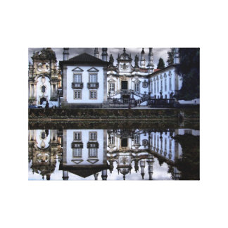 Mateus palace in Vila Real Canvas Prints