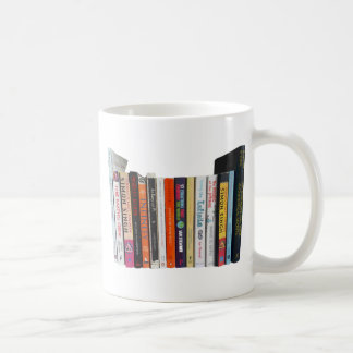 Math Bookshelf Coffee Mug