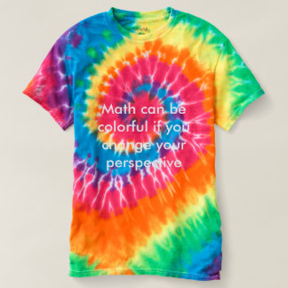 Math can be colorful t-shirt