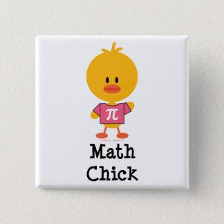 Math Chick Button