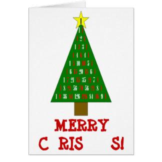 Math Christmas Card