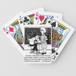 Math Class Cartoon 9478 Bicycle Playing Cards