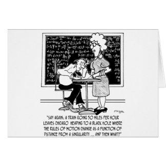 Math Class Cartoon 9478 Card