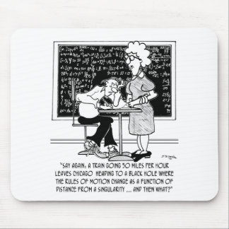 Math Class Cartoon 9478 Mouse Pad