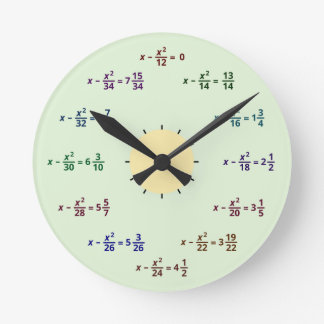 Math Clock