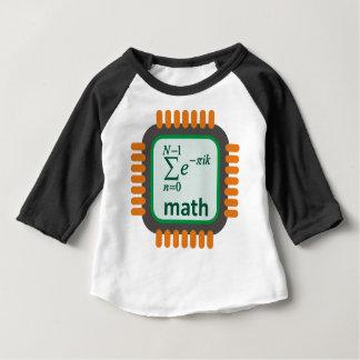 Math Computer Chip Baby T-Shirt