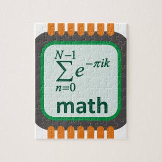 Math Computer Chip Jigsaw Puzzle