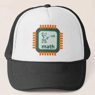 Math Computer Chip Trucker Hat