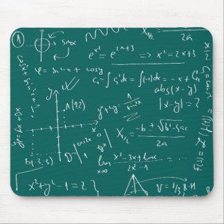 Math formula mouse pad
