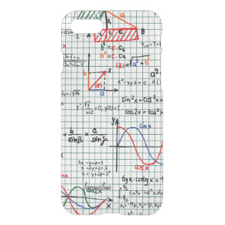 Math Formulas Numbers iPhone 8/7 Case