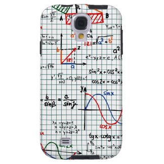 Math Formulas Numbers Samsung Galaxy S4 Case