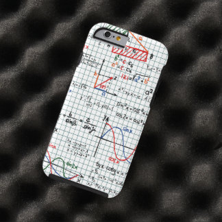 Math Formulas Numbers Tough iPhone 6 Case