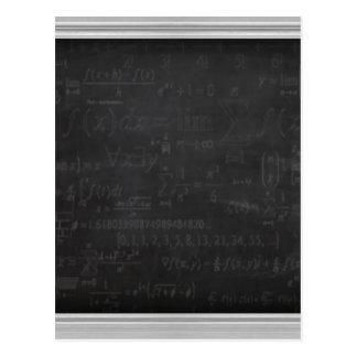 Math Geek Postcard