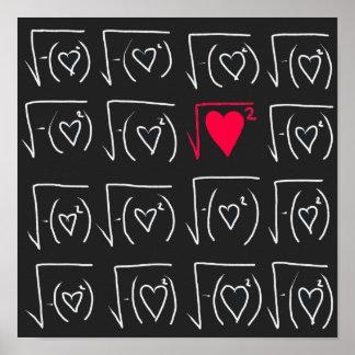 Math geek romance: find real love poster
