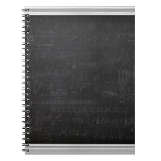 Math Geek Spiral Notebook