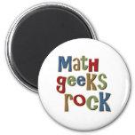 Math Geeks Rock Magnets