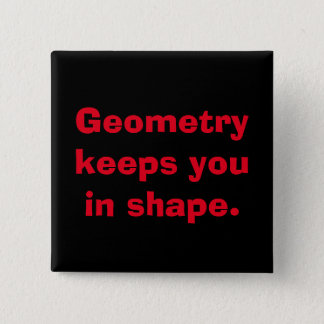 Math Geometry Button
