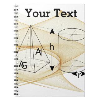 Math, Geometry Style Notebook