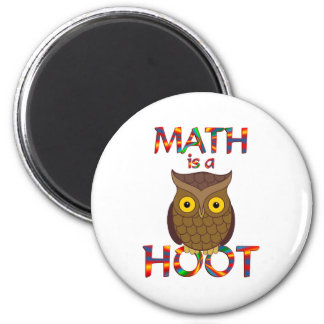 Math is a Hoot Magnet