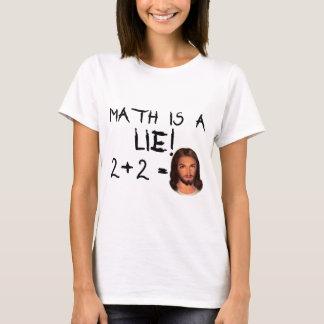 Math Is a Lie! - Light Men's Tee