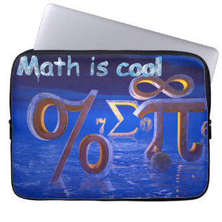 Math is Cool Laptop Sleeve