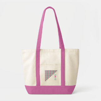 Math Is For Girls, I Love Math, Inspirational Impulse Tote Bag