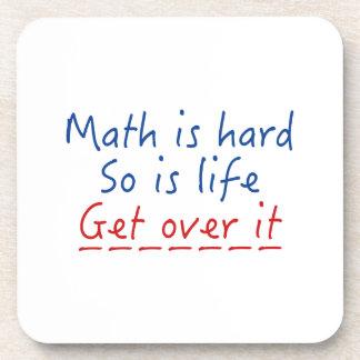 Math Is Hard Coaster