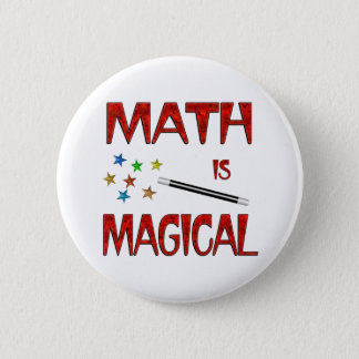 Math is Magical 2 Inch Round Button